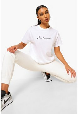 White Woman Signature T-Shirt