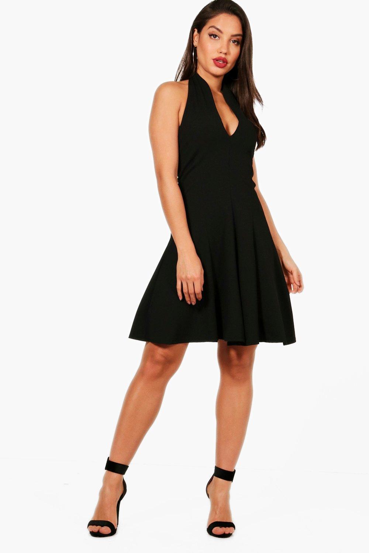 Halter Neck Dress | boohoo
