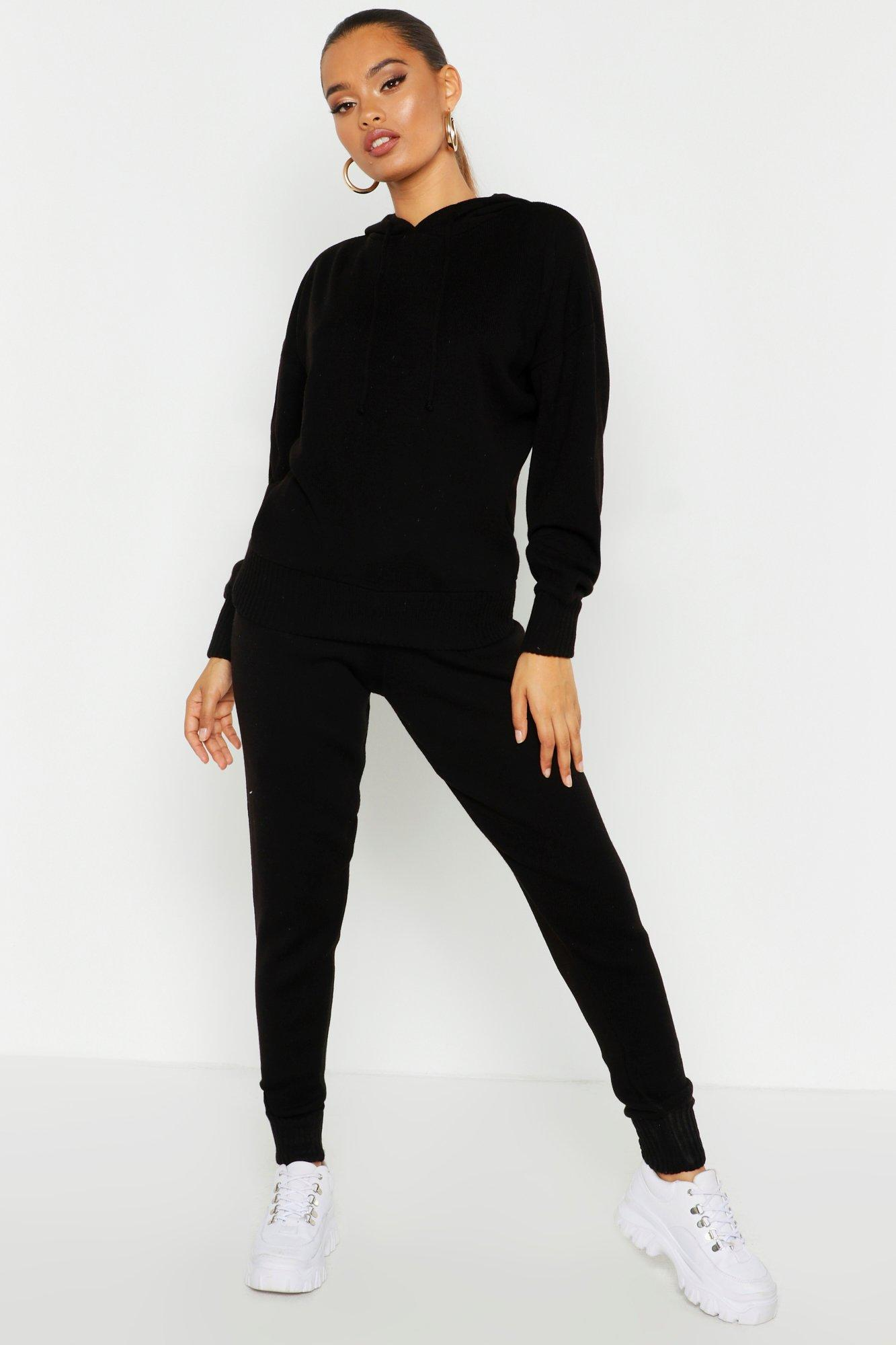 Knitwear Hooded Knitted Tracksuit
