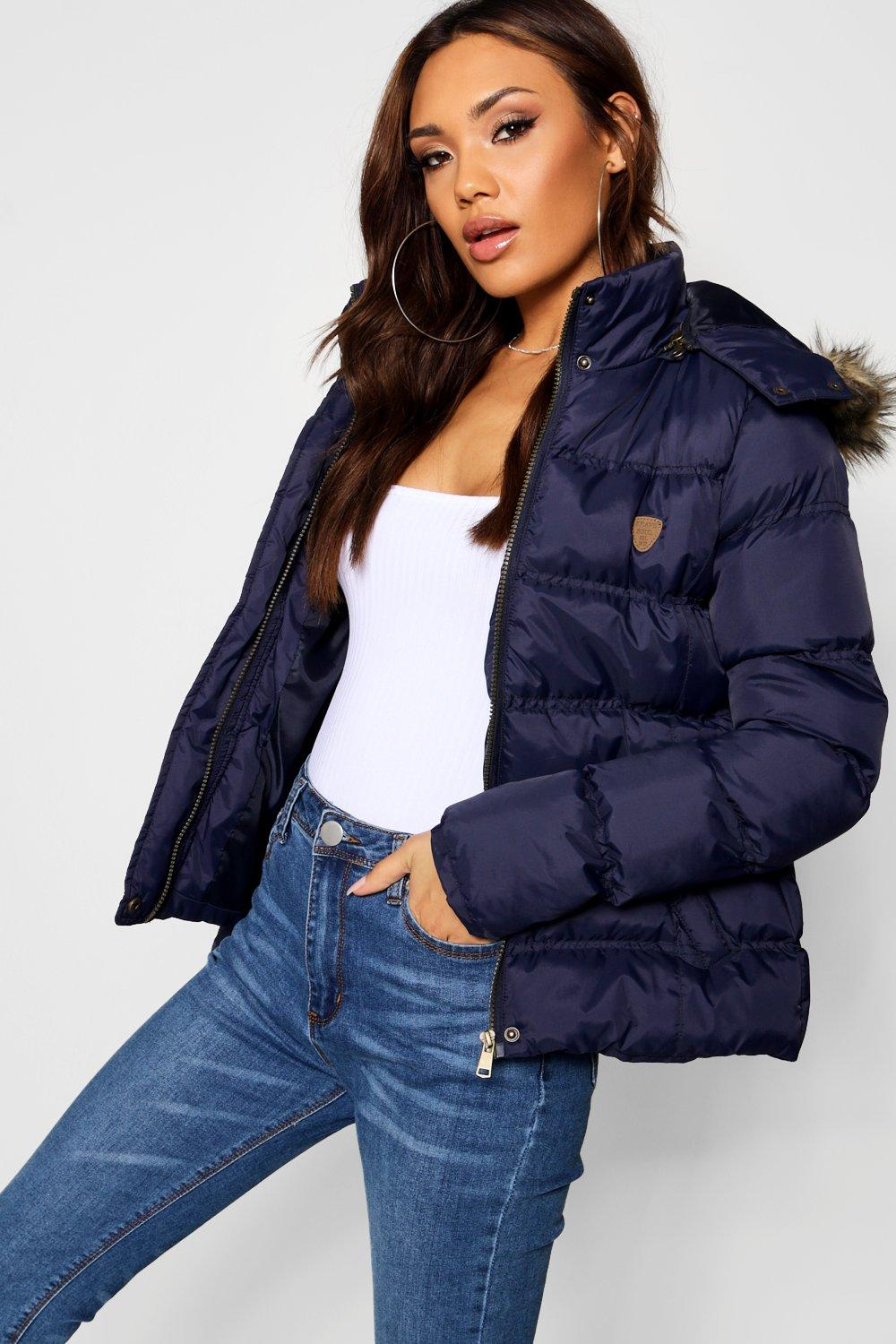 Puffer Jackets Short Quilted Jacket