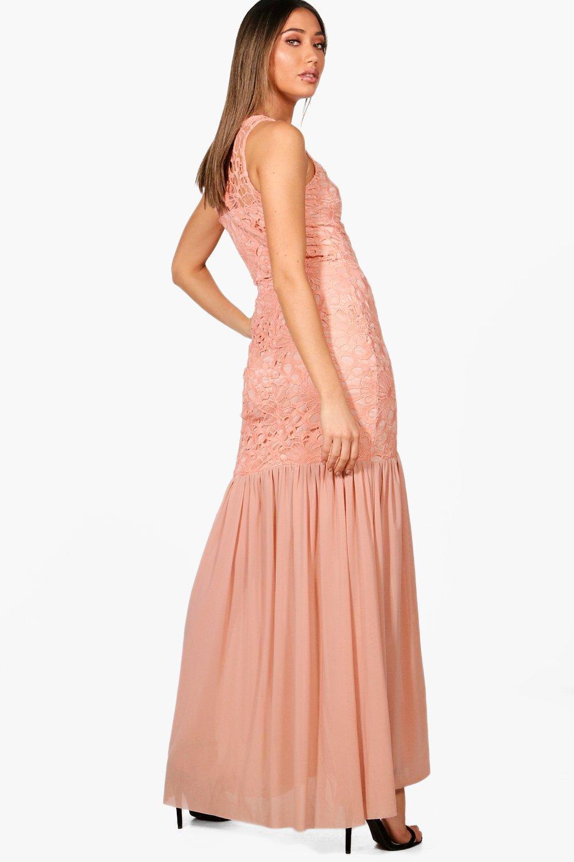 Womens Peplum Maxi Skirt find Brand