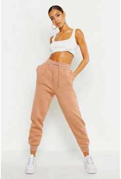 Sand beige Basic Regular Fit Joggers