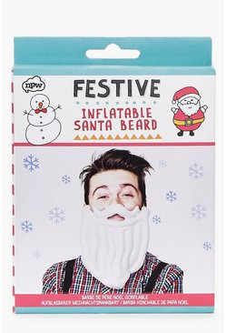 Multi Christmas Inflatable Santa Beard