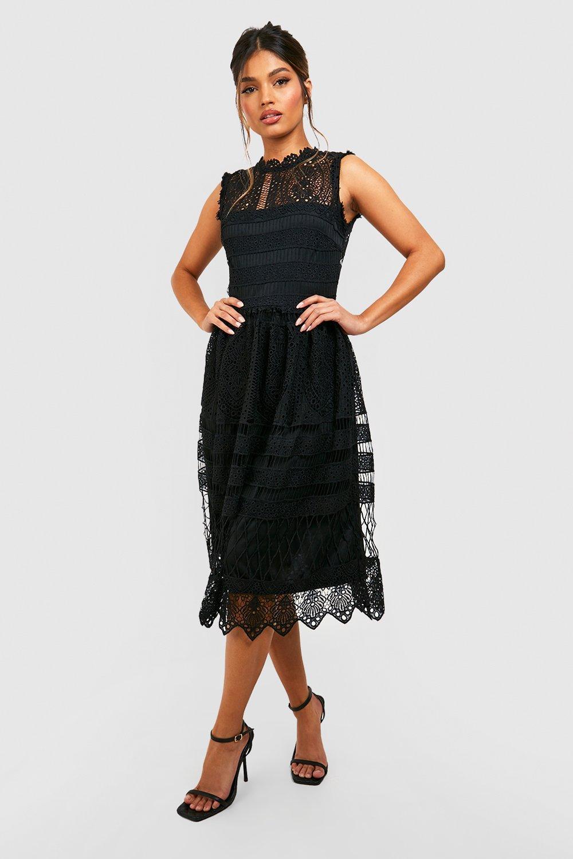 DRESSES Boutique Lace Skater Bridesmaid Dress