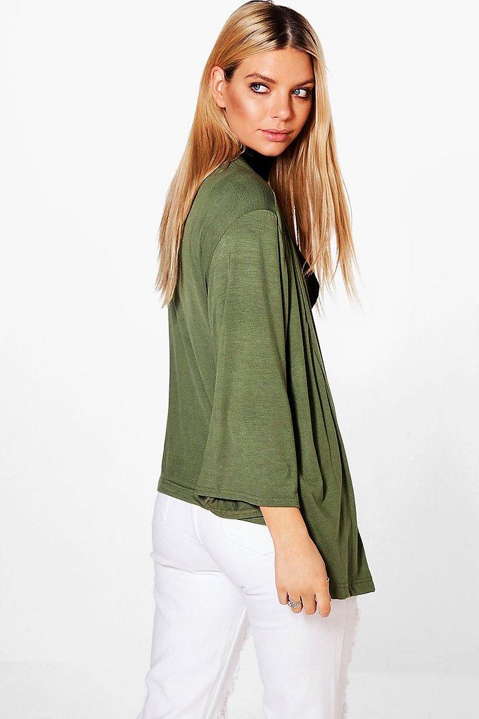 Paige Jersey Kimono Jacket | boohoo SE