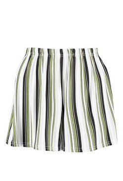 Multi Striped Flippy Shorts