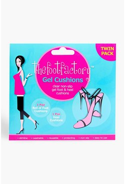 Clear Gel Ball And Heel Foot Cushions 2 Pack