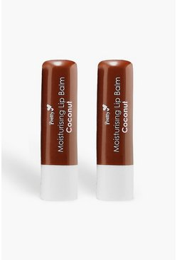Beige Pretty Smooth 2 Coconut Lip Balms