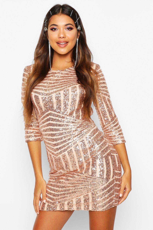 Mini Dresses Boutique  Sequin Bodycon Dress