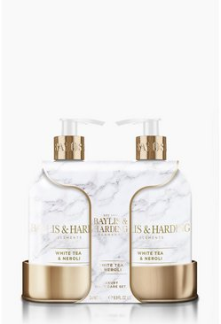 White Baylis And Harding Elements 2 Bottle Set