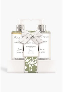 Baylis And Harding Urban Barn 2 Bottle Set, White blanc