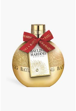 Gold metallic Baylis And Harding Mandarin Bath Bubbles