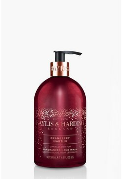 Berry red Baylis And Harding Cranberry 500ml Hand Wash