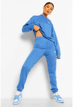 Cobalt blue Woman Joggers
