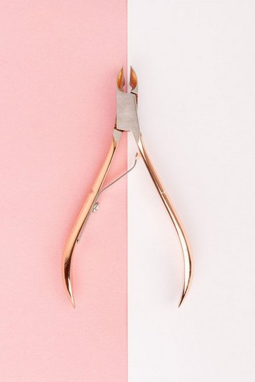 Rose gold metallic Brushworks Cuticle Nippers