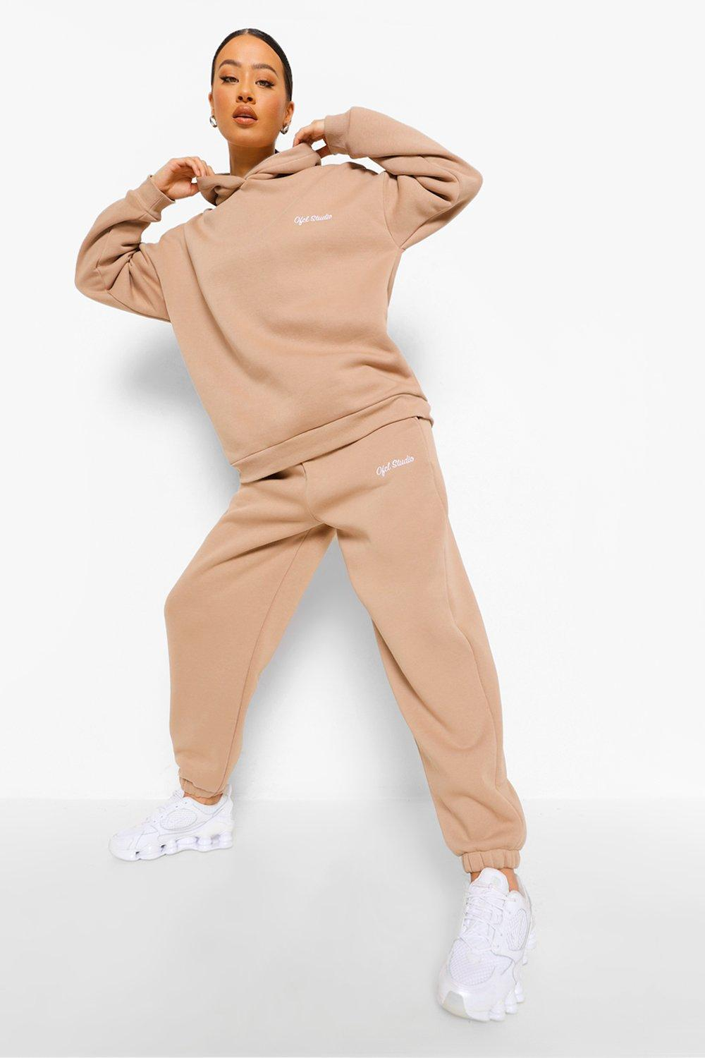 Tracksuits Oversized Ofcl Studio Embroidered Tracksuit
