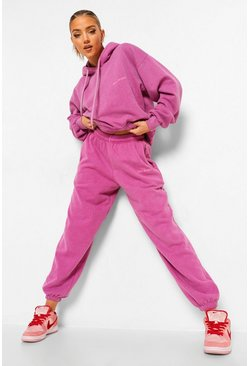 Pink Ofcl Studio Overdyed Marl Tracksuit