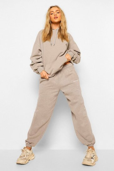 Oatmeal beige Ofcl Studio Overdyed Marl Tracksuit