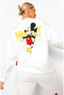 Cream white Disney Mickey Mouse Sweater