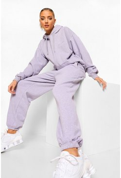 Lilac purple Ofcl Studio Overdyed Marl Tracksuit