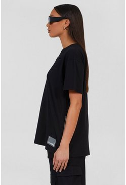 Black Oversized Utility T-Shirt