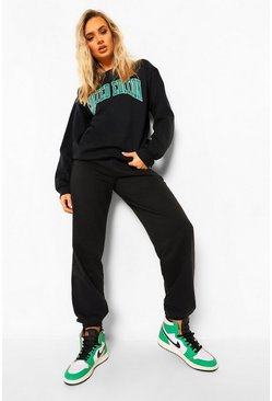 Black Limited Edition Print Tracksuit