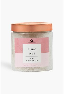 Time Out Bath Salts, Pink rosa