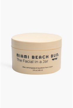 White Miami Beach Bum Facial In A Jar