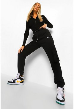 Jogging cargo Official, Noir