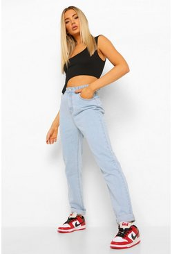 Light blue blue Denim Mom Jeans