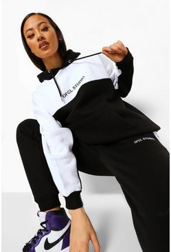 Black Ofcl Studio Colour Block Tracksuit
