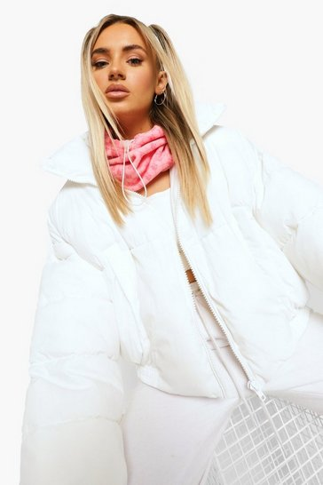 Pink B Print Fleece Snood