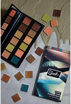 Sleek i-Divine Eyeshadow Palette Grounded - palette di ombretti, Multi