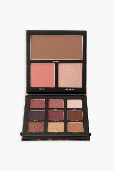 Multi Barry M Velvet Eyeshadow Palette