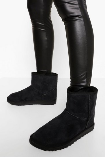 Black Ankle Cosy Boot