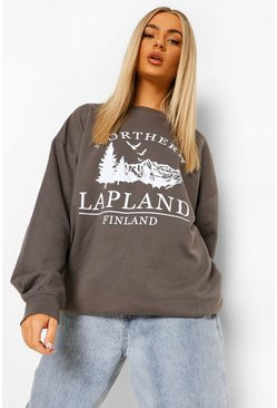 Charcoal grey Lapland Sweatshirt