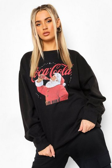 Black Coca Cola Christmas Sweatshirt