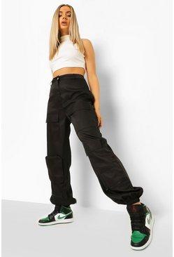 Pantalones Estilo Militar Pantalones De Estilo Combate Para Mujer Boohoo