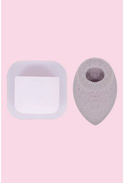 Multi Real Techniques Cleansing Sponge & Holder