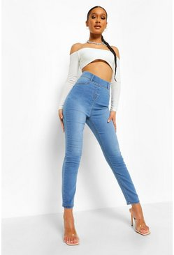 Light blue blue Basic Denim Jegging