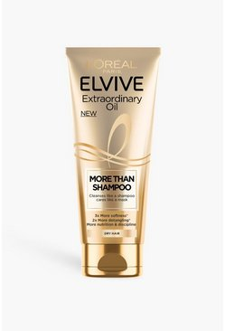 Gold metallic L'oreal Elvive Extraordinary Oil Shampoo
