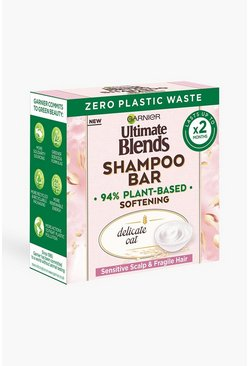Garnier Ultimate Blends Oat Shampoo Bar - shampoo secco in barrette, Multi