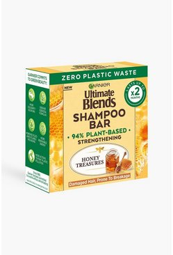 Garnier Ultimate Blends Honey Shampoo Bar - shampoo secco in barrette, Multi