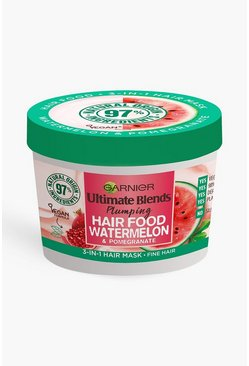 Garnier Ultimate Blends Hair Food Watermelon - maschera nutriente per capelli all'anguria, Multi