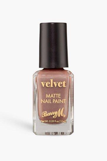 Nude Barry M Velvet Nail Paint - Crushed Ribbon