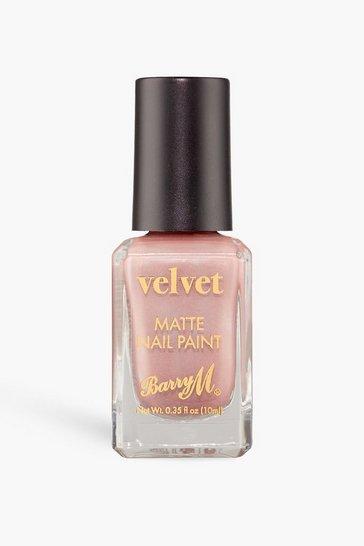 Nude Barry M Velvet Nail Paint - Café Velvet
