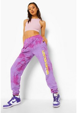 Purple Tie Dye Limited Edition Joggingbroek