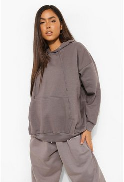 Charcoal grey Basic Oversized Hoodie