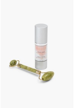 Zoe Ayla Retinol Oil And Jade Roller, Multi mehrfarbig