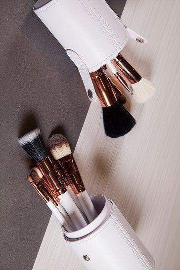 White Zoe Ayla 12 Piece Professional Brush Set